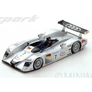 予約S3699 スパーク 1/43 アウディ Audi R8 #7 3rd Le Mans 2000  M. Alboreto - R. Capello - C. Abt|freestyle-hobby