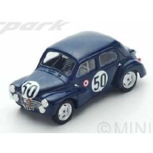 予約S5210 スパーク 1/43 ルノー 4CV 1063 #50 Le Mans 1951  F. Landon - A. Briat|freestyle-hobby