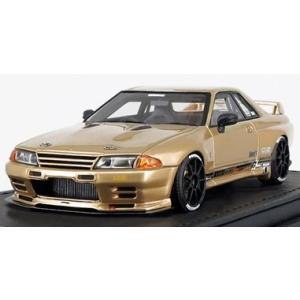 予約IG1529 イグニッションモデル 1/43 日産 トップシークレット GT-R (VR32) ゴールド 生産予定数:100pcs|freestyle-hobby