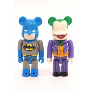 ベアブリック/BE@RBRICK 100% バットマン&ジョーカー 2セット メディコムトイ/中古|freestyle-hobby