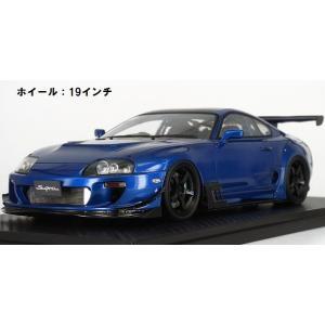 予約IG1429 イグニッションモデル 1/43 トヨタ スープラ (JZA80) RZ ブルー freestyle-hobby