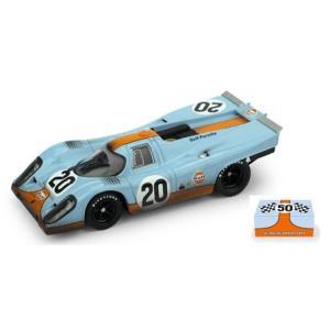 予約R493R ブルム 1/43 ポルシェ 917K Scuderia JWA-Gulf 1970年ルマン #20  J.Siffert/B.Redman レース後仕様 50th RACING ANNIVERSARY パッケージ|freestyle-hobby