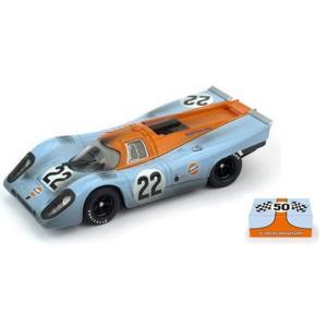 予約R495R ブルム 1/43 ポルシェ 917K Scuderia JWA-Gulf 1970年ルマン #22 M.Hailwood/D.Hobbs レース後仕様 50th RACING ANNIVERSARY パッケージ|freestyle-hobby