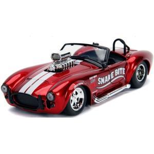 予約19937 JadaToys 1/24 シェルビー 1965 Cobra 427 S/C レッド|freestyle-hobby
