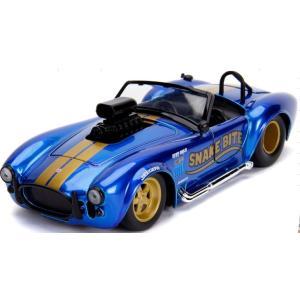 予約19938 JadaToys 1/24 シェルビー 1965 Cobra 427 S/C ブルー|freestyle-hobby