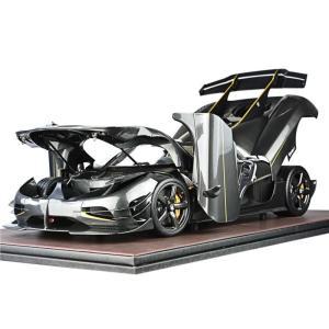 取寄せFA010-117 フロンティアート 1/8 ケーニグセグ Koenigsegg one1 OPEN carbon glod|freestyle-hobby