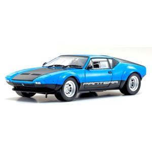 新品 KS08853BL 京商 1 18 デ・トマソ パンテーラ GT4 ブルー ブラックの商品画像|ナビ