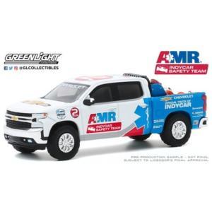 予約30179 GreenLight 1/64 シボレー 2020 Silverado 2020 NTT IndyCar シリーズ Safety Equipment in Truck Bed|freestyle-hobby