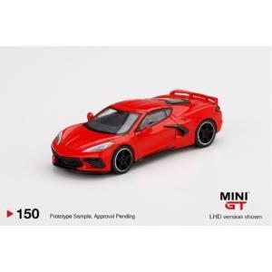 予約MGT00150-L TSM MINI-GT 1/64 シボレー コルベット スティングレイ 2020 トーチレッド(左ハンドル)|freestyle-hobby
