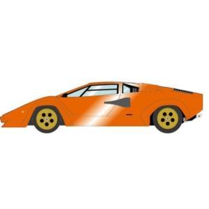 予約IM027F メイクアップ/イデア 1/18 ランボルギーニ Countach LP400S 1978 メタリックオレンジ (タンインテリア)|freestyle-hobby