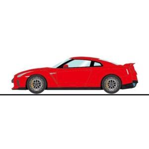予約IM042G メイクアップ/イデア 1/18 日産 GT-R 2020 バイブラントレッド (グレイインテリア)|freestyle-hobby