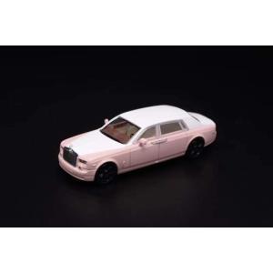 新品 ディーラー特注 1/64 ロールス ロイス Phantom 7 ファントム ピンク&ホワイト