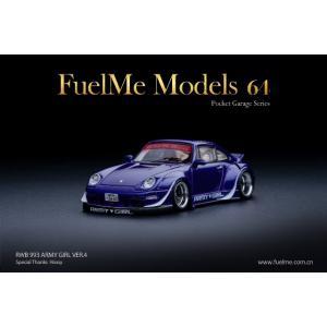 新品 FuelMe Models FM64002-RWB993-08D RWB 993 ARMYGI...
