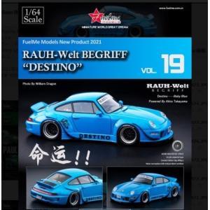 予約FM64002-RWB993-19 Fuelme Models 1/64 ポルシェ Porsch...