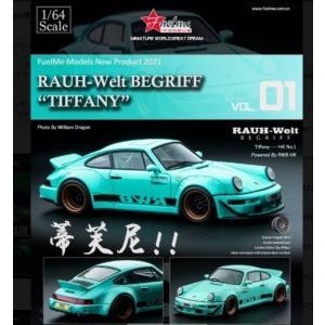予約FM64002-RWB964-01 Fuelme Models 1/64 ポルシェ Porsch...