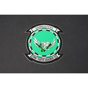 航空機グッズ ステッカー USN アメリカ海軍 DAMBUSTERS VFA-195/中古|freestyle-hobby
