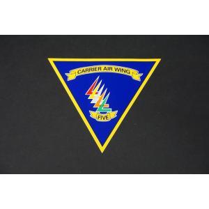 航空機グッズ ステッカー USN アメリカ海軍 厚木基地 第5空母航空団 CARRIER WING ロナルド・レーガン/中古|freestyle-hobby