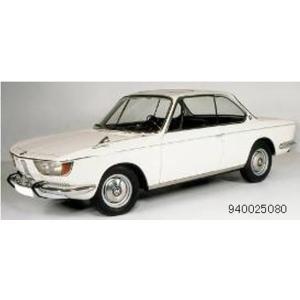 予約940025080 マキシチャンプス 1/43 BMW 2000 CS クーペ 1967 ホワイト freestyle-hobby