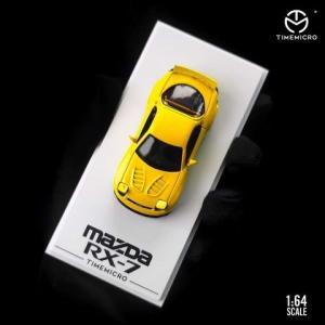 予約  TM Time Micro 1/64 マツダ Mazda RX-7 Rocket Bunny イエロー|freestyle-hobby