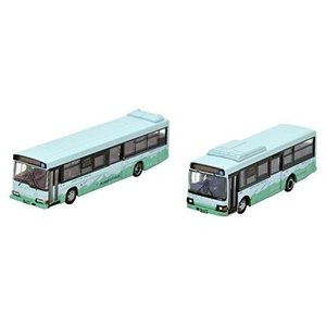 ザ バスコレクション バスコレで巡る想い出の国鉄ローカル線転換 代替バスシリーズ2 標津線  阿寒バス  2台 トミーテック