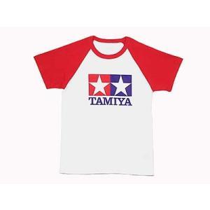 タミヤ ラグランTシャツ半袖(赤)ジュニアL /新品|freestyle-hobby