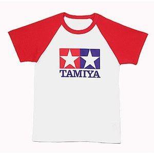 タミヤ 66729 ラグランTシャツ半袖(赤)S /新品|freestyle-hobby