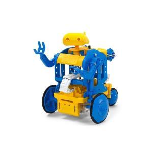 タミヤ 69931 チェーンプログラムロボット工作セット(ブルー/イエロー)|freestyle-hobby