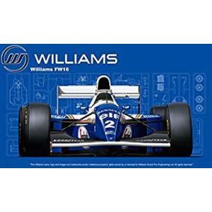 GP-24 1/20 ウィリアムズFW16ルノー(サンマリノGP/ブラジルGP/パシフィックGP) フジミ模型/新品|freestyle-hobby