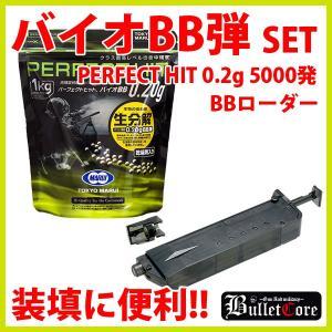 東京マルイ パーフェクトヒット  0.2g  バイオBB弾  1kg 5000発 BBローダー セット/新品|freestyle-hobby