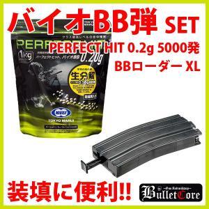東京マルイ パーフェクトヒット  0.2g  バイオBB弾  1kg 5000発 BBローダーXL セット/新品|freestyle-hobby
