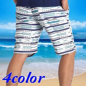 【送料無料】 ハーフパンツ メンズ オルテガ ボーダー マリン 【ネコポス】15333 15336|freestylewear