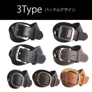 ベルト メンズ ビジカジ ビジネス カジュアル ゴルフ 合成革皮 BTG002 BTG003 BTG004|freestylewear