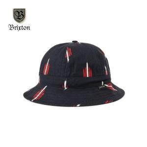 400b31566aa54 BRIXTON/ブリクストン BANKS II BUCKET HAT/バケットハット・BLK×RED