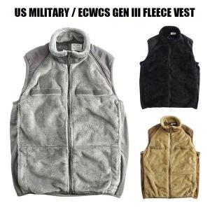 US MILITARY / ECWCS GEN III FLEECE VEST  1980年代より導...