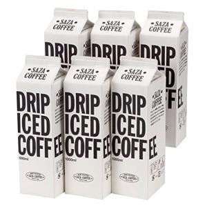 サザコーヒー ネルドリップ・アイスコーヒー 無糖 1000ml6本|freewaylovers
