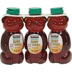 KIRKLAND カークランド Organic Raw Honey オーガニック ローハニー680g 有機 生ハチミツ(生はちみつ)3本セット|freewaylovers