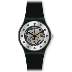 [スウォッチ] 腕時計 SUOZ147 正規輸入品 ホワイト|freewaylovers
