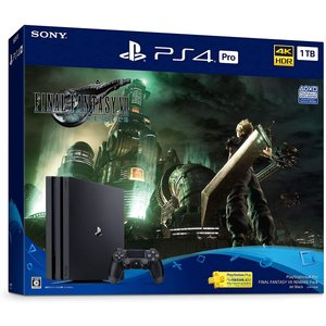 PlayStation 4 Pro FINAL FANTASY VII REMAKE Pack(HDD:1TB)|freewaylovers