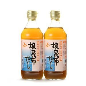 アイビック食品 北海道日高産 根昆布だし 2本セット (500ml2本)|freewaylovers