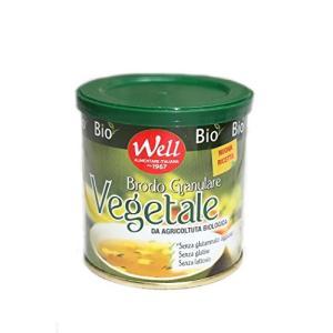 オーガニック ブロード・コンソメ粉 150g ウェル社 イタリア産 (Italian Organic vegetable Broth powder by Well Arimentare)|freewaylovers