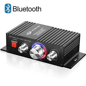 Bluetooth パワーアンプ TTMOW 高音質 高出力 Bluetooth対応 オーディオアンプ 重低音 Hi-Fiステレオデジタルアンプ|freewaylovers
