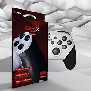 GAIMX GRABX コントロールグリップ(滑り止め) switch PROコントローラー用 エイムリングと組み合わせ可【国内正規品|freewaylovers