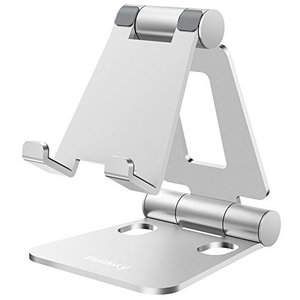 お好きに高度・角度を調整可能  可動部が2箇所あって、とても柔軟に動かせ、自分でベストな高さと角度に...