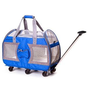 ペットカート 六輪 ペットバッグ 折りたたみ 多頭 - HIMIMIドッグカート犬用ベビーカー ペットキャリーバッグ ペ freewaylovers