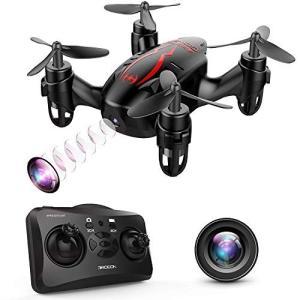 DROCON ドローン HDカメラ付き 720P画質 クアッドコプター ヘッドレスモード 3D宙返り 2.4GHz 4CH 6軸 ミニドローン マルチコプター 日本語説明書付き GD-60|freewaylovers