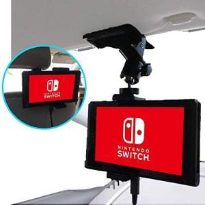 【Nanmara】車載用 Nintendo Switch クリップ ホルダー 強力クリップでしっかり固定 いろんな場所で使える スタンド|freewaylovers