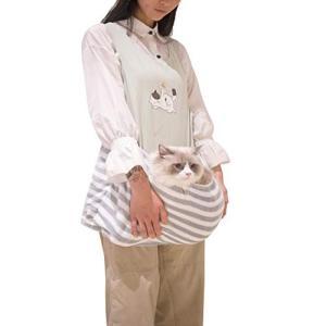 MDLJLF ペット 抱っこ用エプロン いつも一緒ポケット 抱っこ紐 ペット寝袋 カンガルー 飛び出し防止 ペット外出 freewaylovers