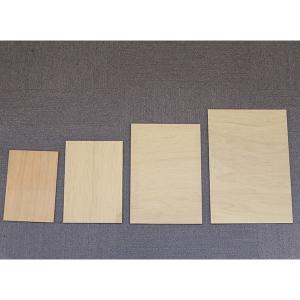 規格サイズ ベニヤ板 A4サイズ8枚組|freizeit|02