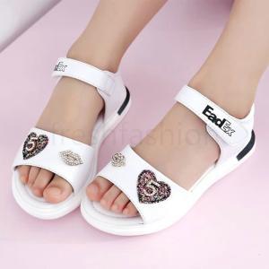 新品 キッズ靴 女の子サンダル 子供靴 シューズ マジックテープ 軽量 履きやすい キッズサンダル 人気 韓国風 可愛い オシャレ 春夏サンダル サマーサンダル freshfashion