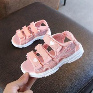 新品 サンダル キッズ 子供 女の子 子供靴 スポーツサンダル ダブルベルト 歩きやすい 履きやすい オシャレ 軽量 シューズ 子ども 夏 アウトドア 散歩 freshfashion